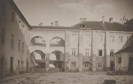 Jan Bułhak, Wilno - mury uniwersyteckie