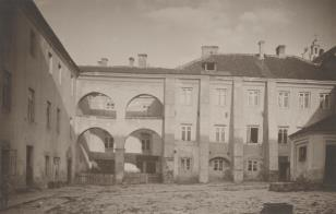 Wilno - mury uniwersyteckie