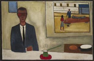 Portret z oknem