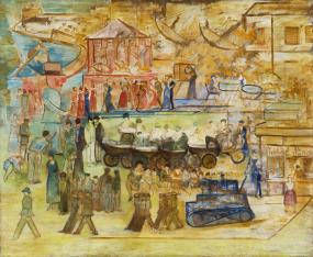 Karuzela (Przemarsz wojsk przez park, Wózki)