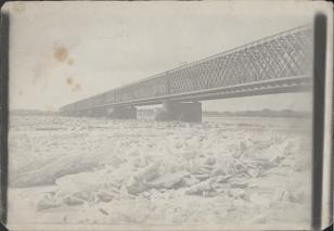 Ryga, most przez Dźwinę