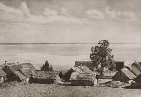 Jan Bułhak, Wieś Nanosy nad jeziorem Narocz