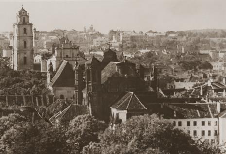 Jan Bułhak, Wilno - Kościół Św. Jana i oo. Bernardynów