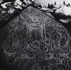 Kamień, relief polichromowany z ruin świątyni Mandziuszzichnit