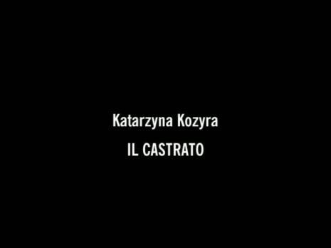 Katarzyna Kozyra, II Castrato