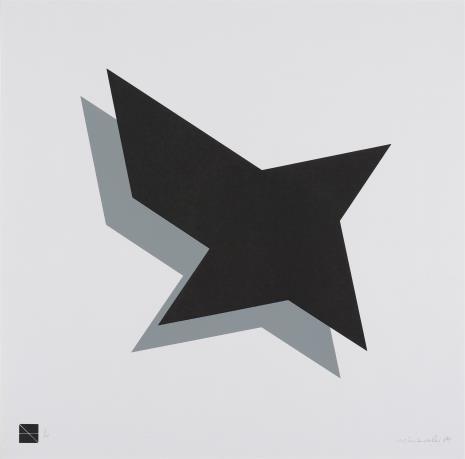 Ryszard Winiarski, Czarny kwadrat czyli fruwająca geometria 2