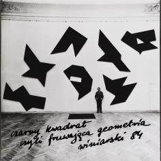 Czarny kwadrat czyli fruwająca geometria