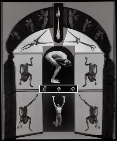 Zofia Kulik, Czarny tiul, z cyklu