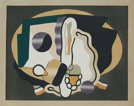 Georges Valmier, Kompozycja