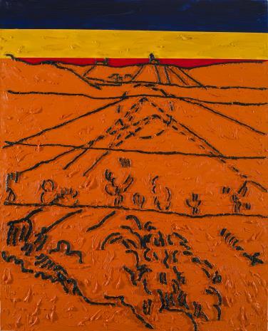Włodzimierz Pawlak, W.Strzemiński. Teoria obrazu V. van Gogha Dolina Crau (B)