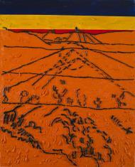 W.Strzemiński. Teoria widzenia obrazu V. van Gogha Dolina Crau (B)