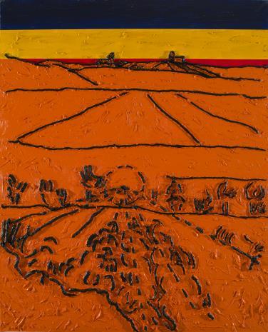 Włodzimierz Pawlak, W. Strzemiński. Teoria obrazu V. van Gogha Dolina Crau (A)