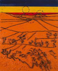 W.Strzemiński. Teoria widzenia obrazu V. van Gogha Dolina Crau (C)