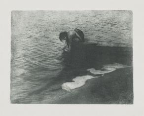 Kobieta w łódce
