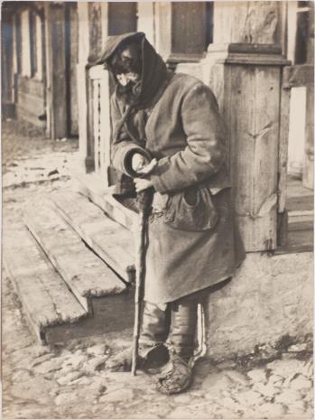 Julian Mioduszewski, Żebrak