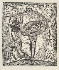 Ibis, z cyklu: Zwierzyniec