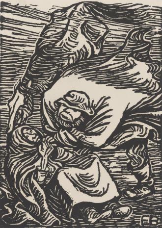 Ernst Barlach, Podczas burzy