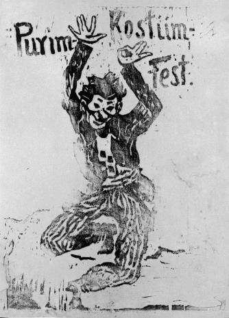 Henoch  Barczyński, Purim Kostüm Fest