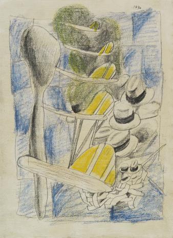 Marek  Włodarski, Rysunek z kapeluszami