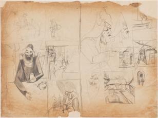 Szkice na temat folkloru żydowskiego. Szkice aktów kobiecych