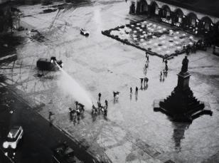 Rynek Główny, Kraków, 13 V 1982