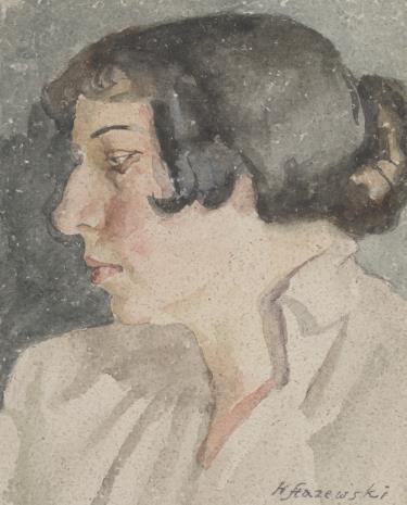 Henryk Stażewski, Głowa kobiety