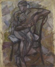 Akt kobiety siedzącej
