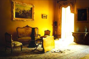 Salonik rokokowy 2, z cyklu: Naruszenie