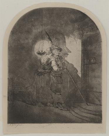 Jan Piotr Norblin de la Gourdaine, Wynalezienie rysunku
