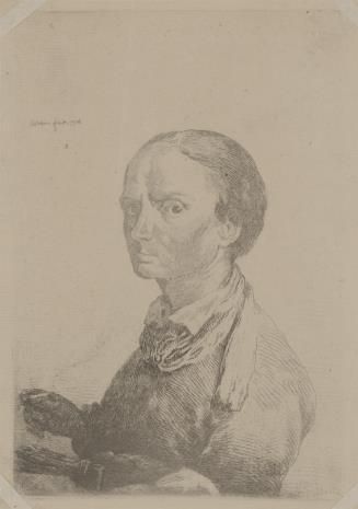 Jan Piotr Norblin de la Gourdaine, Autoportret