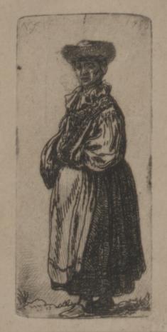 Jan Piotr Norblin de la Gourdaine, Żydówka w fartuchu