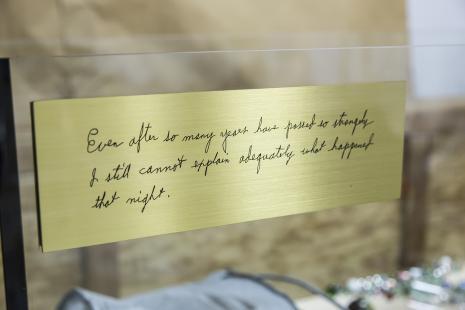 Jimmie Durham, Nawet pomimo tego, iż ku mojemu zdziwieniu minęło tyle lat nadal nie mogę odpowiednio wytłumaczyć tego, co wydarzyło się tamtej nocy