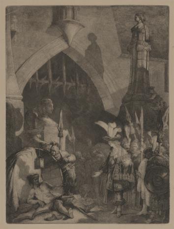 Jan Piotr Norblin de la Gourdaine, Aleksander Wielki przed Diogenesem