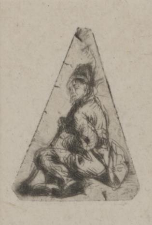 Jan Piotr Norblin de la Gourdaine, Chłopiec w czapce z piórkiem