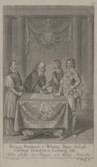 Książę Bernard z Weimaru Ojciec Józef, Kardynał Richelieu i Ludwik XIII