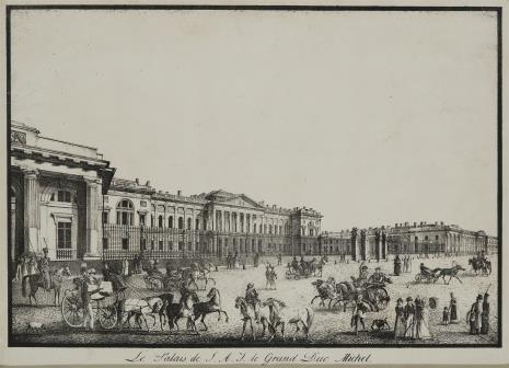 Aleksander Orłowski, Pałac w. ks. Michała w Petersburgu