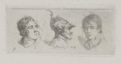 Michał Płoński, Trzy głowy