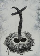 bez tytułu (krzyż z jajami)