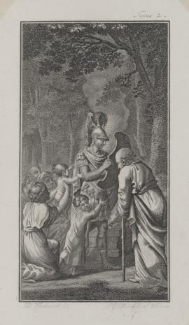 Joseph Georg Mansfeld, Pożegnanie wojownika (ilustracja do niezidentyfikowanego wydawnictwa )