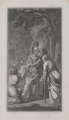 Pożegnanie wojownika (ilustracja do niezidentyfikowanego wydawnictwa )