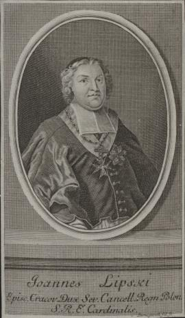 Johann Martin Bernigeroth, Jan Aleksander Lipski (1690-1746), kardynał, biskup krakowski