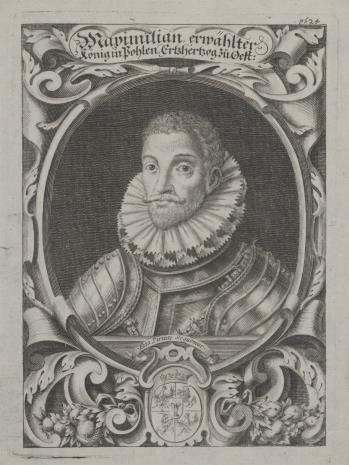 nieznany, Maksymilian Habsburg, arcyksiążę austriacki