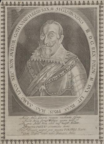 nieznany, Zygmunt III Waza, król polski