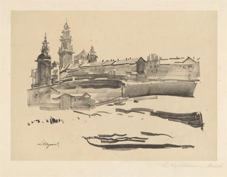 Leon Wyczółkowski, Wawel z teki Wawel