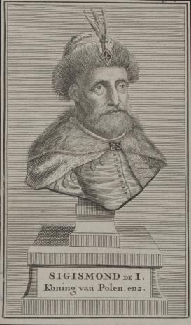 nieznany, Zygmunt I, król polski