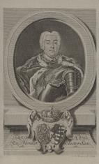 Fryderyk August III, elektor saski, król polski, popiersie