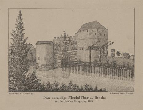 A. Baumert, Wieża Mikołaja [Nicolai-Thor w Wrocławiu]