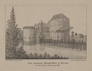 Wieża Mikołaja [Nicolai-Thor w Wrocławiu]