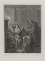 Ilustracja do F.G. Klopstocka 'Messiada