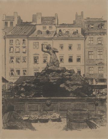 Leon Wyczółkowski, Studnia na Starym Mieście